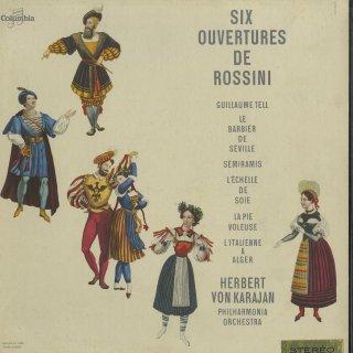 ロッシーニ:序曲集/アルジェのイタリア女,セミラーミデ,セビーリャ,ウィリアム・テル,絹のはしご,泥棒かささぎ