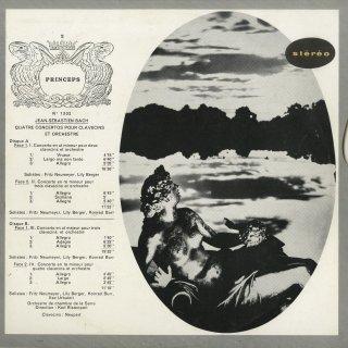 バッハ:2,3,4台のチェンバロのための協奏曲集(4曲)