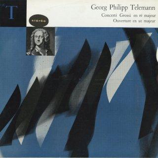 テレマン:合奏協奏曲(2曲),序曲