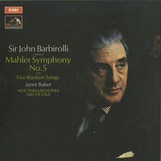 マーラー:交響曲5番,5つのリュッケルトの歌