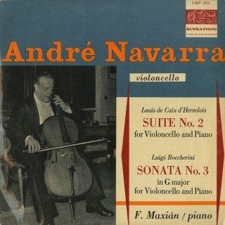 ボッケリーニ:チェロ・ソナタ3番,デルヴロワ:チェロ組曲2番