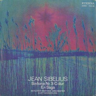 シベリウス:交響曲3番Op.52,エン・サガOp.9