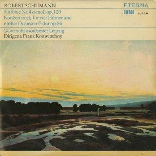 シューマン:交響曲4番Op.120,コンツェルトシュテュックOp.86