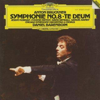 ブルックナー:交響曲8番,テ・デウム