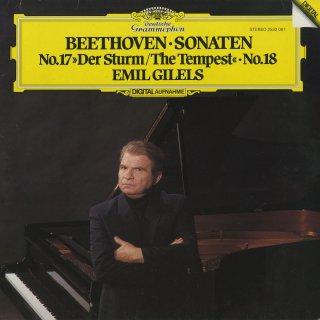 ベートーヴェン:ピアノ・ソナタ17番「テンペスト」Op.31−2,18番Op.31−3