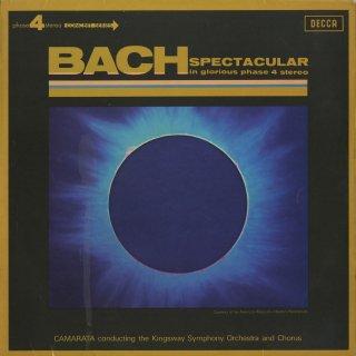 「Bach Spectacular」/トッカータとフーガBWV.565,主よ人の望みの喜びを,アヴェ・マリア,ブランデンブルグ協奏曲2番〜3楽章,他
