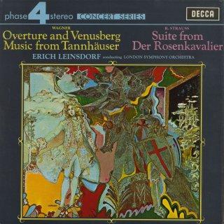 ワーグナー:「タンホイザー」〜序曲とヴェヌスベルク,R.シュトラウス:「ばらの騎士」オーケストラ組曲