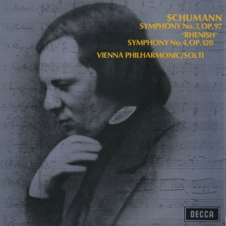 シューマン:交響曲3番Op.97「ライン」,4番Op.120