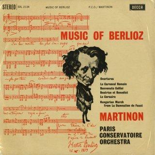 ベルリオーズ:ハンガリー行進曲,序曲/ローマの謝肉祭,ベアトリスとベネディクト,ベンヴェヌート・チェッリーニ,海賊