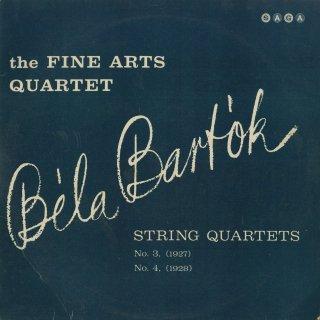 バルトーク:弦楽四重奏曲3番,4番