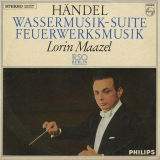ヘンデル:王宮の花火の音楽,水上の音楽