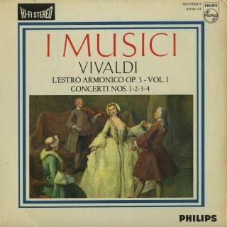 ヴィヴァルディ:合奏協奏曲集「調和の霊感」Op.3−1〜4