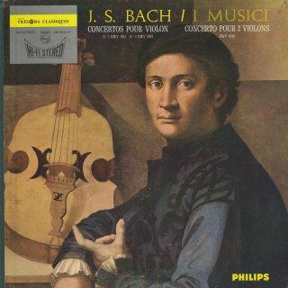 バッハ:ヴァイオリン協奏曲1番BWV.1041,2番BWV.1042,2つのヴァイオリンのための協奏曲BWV.1043