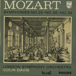 モーツァルト:交響曲29番K.201,25番K.183,32番K.318