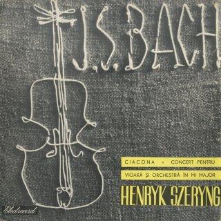バッハ:シャコンヌ,ヴァイオリン協奏曲2番BWV.1042