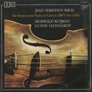 バッハ:ヴァイオリン・ソナタBWV.1014〜19(全6曲)