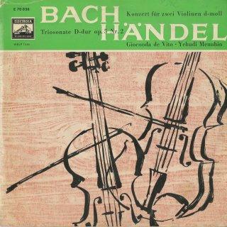 バッハ:2つのヴァイオリンのための協奏曲BWV.1043,ヘンデル:トリオ・ソナタOp.5−2