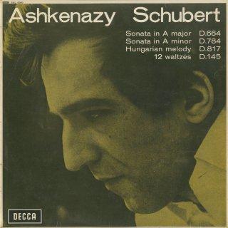 シューベルト:ピアノ・ソナタ13番Op.120,14番Op.143,ハンガリーのメロディ,12のワルツOp.18