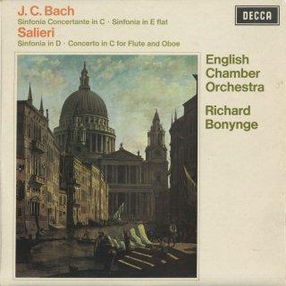 J.C.バッハ:協奏交響曲,交響曲Op.9−2,サリエリ:シンフォニア「ヴェネツィアーナ」,フルートとオーボエのための協奏曲