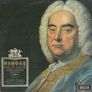 ヘンデル:12の合奏協奏曲集Vol.2/5〜8番