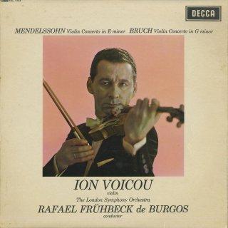 メンデルスゾーン:ヴァイオリン協奏曲Op.64,ブルッフ:ヴァイオリン協奏曲1番Op.26