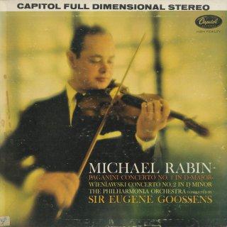 ヴァイオリン協奏曲集/パガニーニ:1番Op.6,ヴィエニャフスキ:2番Op.22
