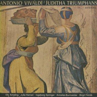 ヴィヴァルディ:オラトリオ「蛮族の王ホロフェルネスに勝利して凱旋するユディト」(全曲)