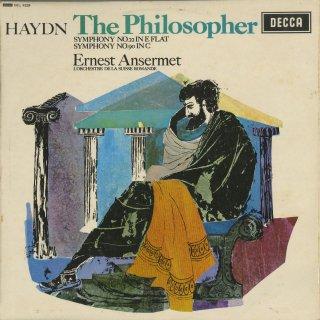 ハイドン:交響曲22番「哲学者」,90番
