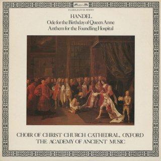 ヘンデル:アン女王の誕生日のための頌歌,捨子養護院アンセム