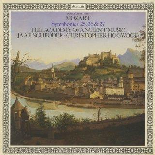モーツァルト:交響曲25番K.183,26番K.184,27番K.199