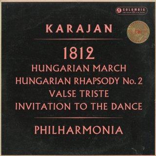 チャイコフスキー:1812年序曲,ベルリオーズ:ハンガリー行進曲,リスト:ハンガリー狂詩曲2番,シベリウス:悲しいワルツ,ウェーバー:舞踏への勧誘