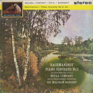 ラフマニノフ:ピアノ協奏曲2番Op.18,前奏曲Op.23−4,32−5,32−12
