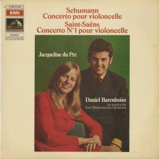 シューマン:チェロ協奏曲Op.129,サン・サーンス:チェロ協奏曲1番Op.33