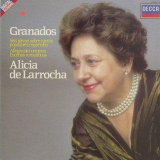 グラナドス:スペイン民謡による6つの小品集,演奏会用アレグロ,ロマンティックな情景