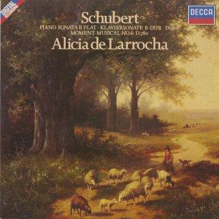 シューベルト:ピアノ・ソナタD.960,楽興の時6番Op.94