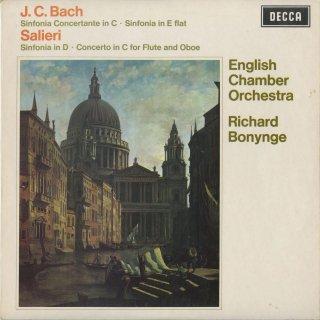 J.C.バッハ:協奏交響曲,交響曲Op.9−2,サリエリ:シンフォニア「ヴェネツィアーナ」,フルート・オーボエ協奏曲