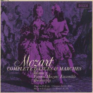 「モーツァルト:舞曲・行進曲全集Vol.3」行進曲K.249,335−1,ドイツ舞曲K.600,メヌエットK.568