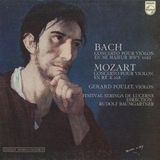 ヴァイオリン協奏曲集/バッハ:2番BWV.1042,モーツァルト:4番K.218