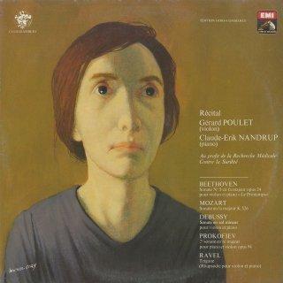 ヴァイオリン・ソナタ集/ベートーヴェン:5番「春」,モーツァルト:K.526,ドビュッシー,プロコフィエフ:2番Op.94,ラヴェル:ツィガーヌ