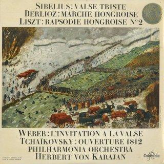 管弦楽曲集/チャイコフスキー:1812年序曲,シベリウス:悲しいワルツ,リスト:ハンガリー狂詩曲2番,ベルリオーズ,ウェーバー