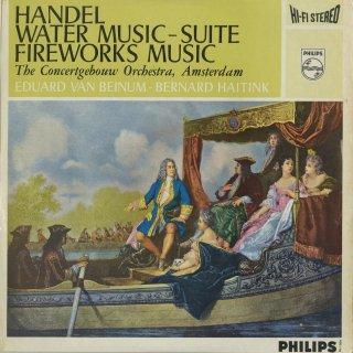 ヘンデル:水上の音楽,王宮の花火の音楽