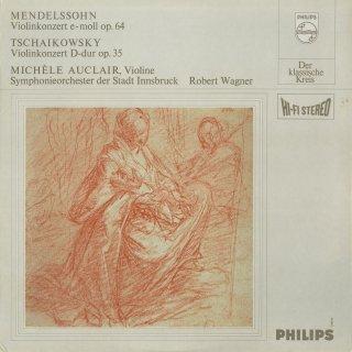 ヴァイオリン協奏曲集/メンデルスゾーン:Op.64,チャイコフスキー:Op.35