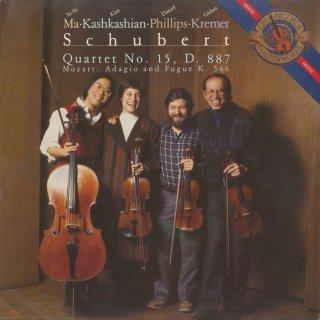 シューベルト:弦楽四重奏曲15番Op.161,モーツァルト:アダージョとフーガK.546