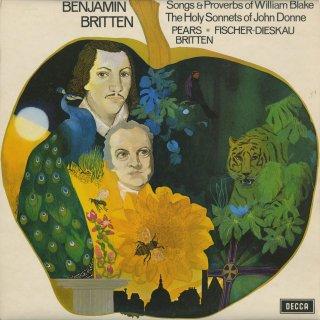 ブリテン:ウィリアム・ブレイクの歌と格言Op.74,ジョン・ダンの神聖なソネットOp.35