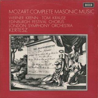 モーツァルト:フリーメーソンの音楽集/葬送音楽K.477,カンタータK.429,619,623 他