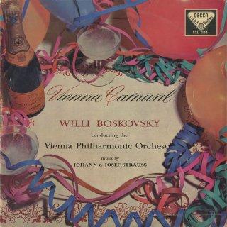「ウィーン・カーニヴァル」J.シュトラウス:ハンガリー万歳,山賊ギャロップ,他3曲,ヨーゼフ・シュトラウス:天体の音楽,わが人生は愛と喜び,他1曲