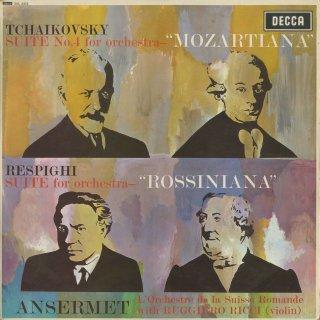 チャイコフスキー:管弦楽組曲4番Op.61「モーツァルティアーナ」,レスピーギ:ロッシニアーナ(4曲)