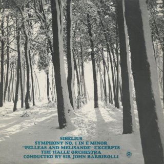シベリウス:交響曲1番Op.39,ペレアスとメリザンドOp.46