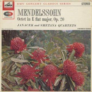 メンデルスゾーン:弦楽八重奏曲Op.20