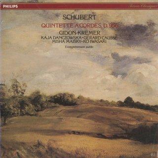シューベルト:弦楽五重奏曲Op.163